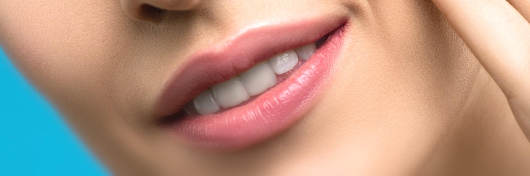 Lippenaufbau